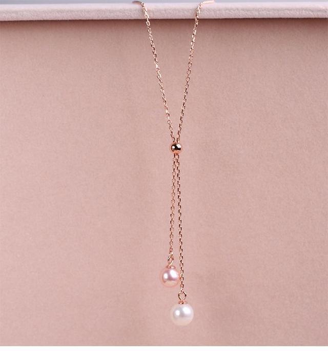 哪些款式的珍珠项链适合20岁左右的女孩子佩戴?插图5