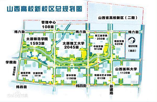 山西省大学城未来发展怎么样?