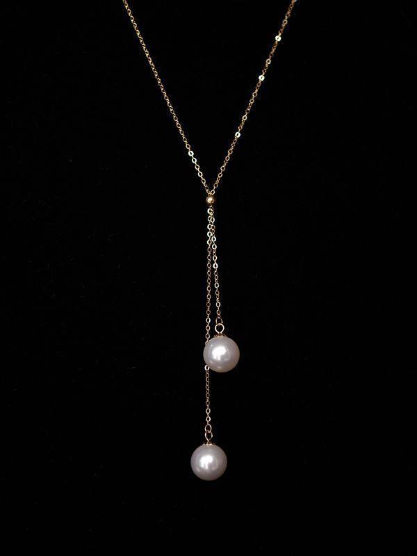 哪些款式的珍珠项链适合20岁左右的女孩子佩戴?插图7