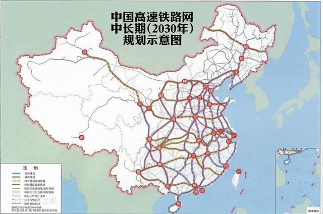高铁图,谁能弄一张中国高铁路线图?