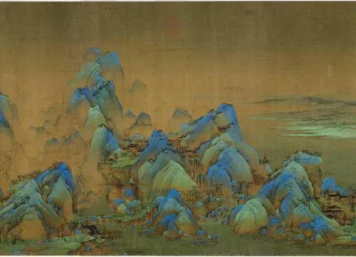 买了房子,客厅想挂一个刺绣的《千里江山图》,有没有推荐的?
