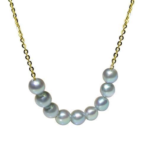 哪些款式的珍珠项链适合20岁左右的女孩子佩戴?插图10