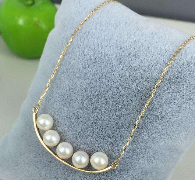 哪些款式的珍珠项链适合20岁左右的女孩子佩戴?插图11