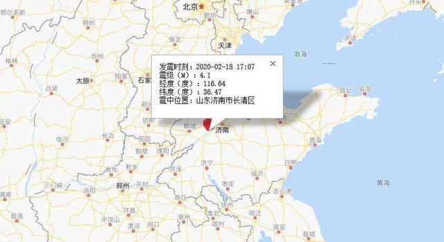 山东济南发生地震事件 疫情风波未过,济南又发