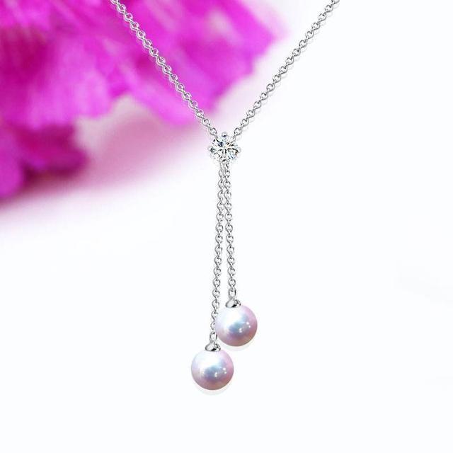 哪些款式的珍珠项链适合20岁左右的女孩子佩戴?插图2