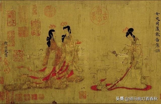 古装人物画,为什么中国画人物像画的那么差?
