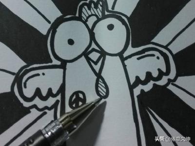 动漫图片简单,怎样画简单的铅笔卡通铅笔画?