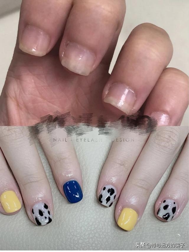 2011最新美甲图片:为什么女孩子要留长指甲还要涂的花花绿绿?(相关长尾词)