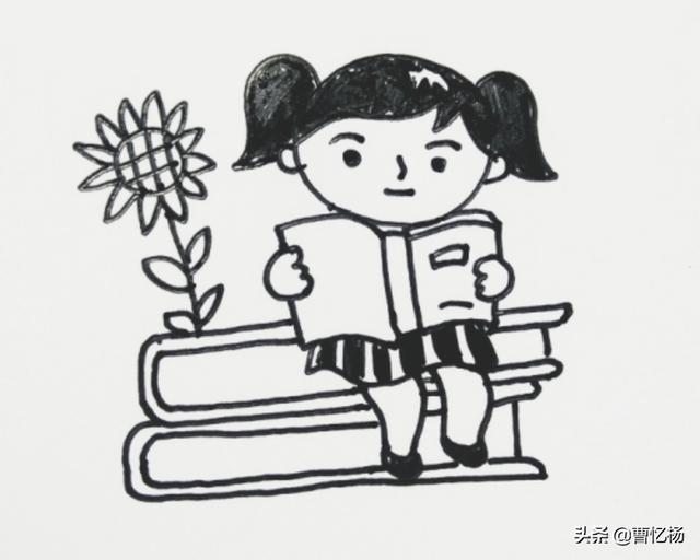 头像娃娃,怎么简笔画一个可爱的娃娃头像?