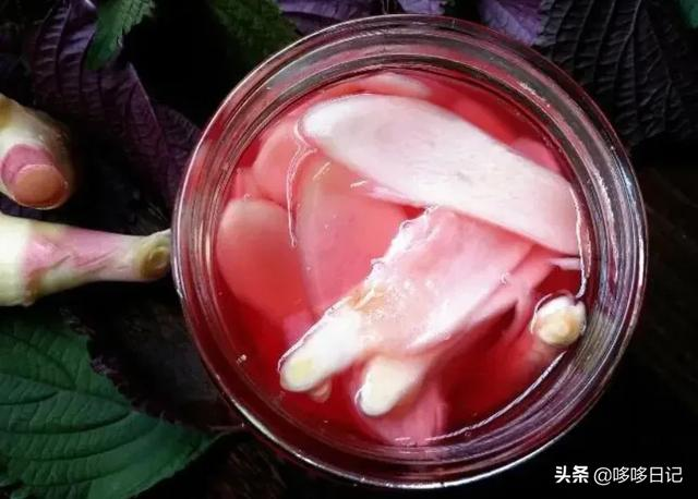 白醋加姜片三天祛斑,紫苏泡姜的正确做法是什么?