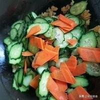 山药的做法山药,胡萝卜,黄瓜一块怎么做?