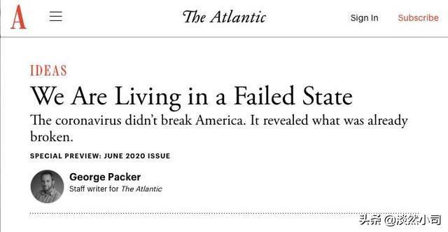 关于在美国生活的好文章 美国《大西洋月刊》文