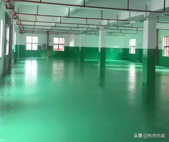 (水泥地坪厚度一般多少)厂房地坪漆施工方案,厚度做多少合适?