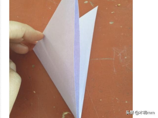 心形折纸教师节礼物,手工折纸--怎么用卡纸折爱心?