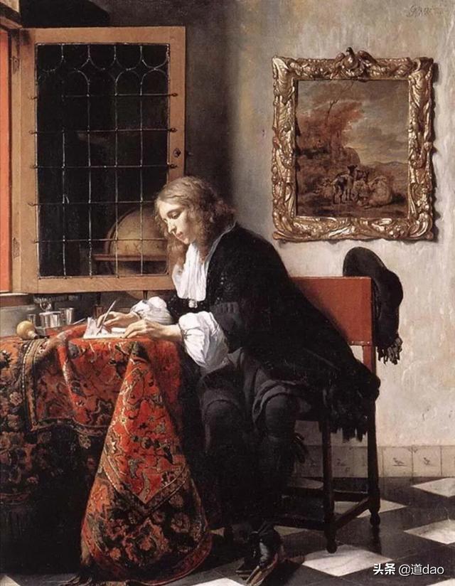 如何评价画家维米尔描绘的写实女人油画?他在西方画坛地位如何?插图1
