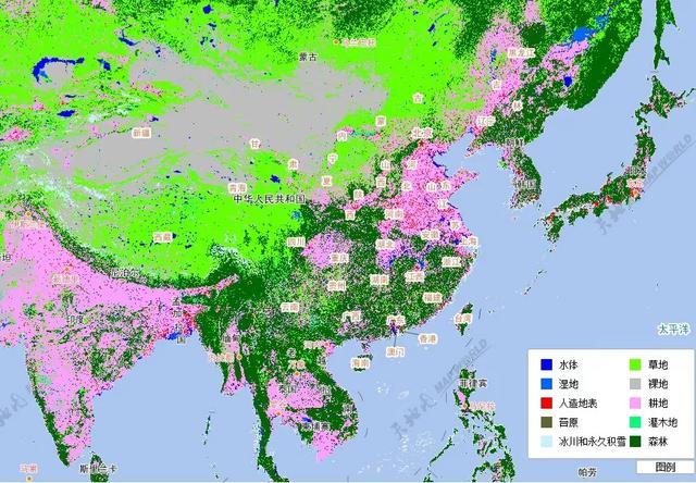 三国地图,蜀汉的疆域面积只比曹魏略小,东吴的地盘甚至比曹魏还大点(图10)