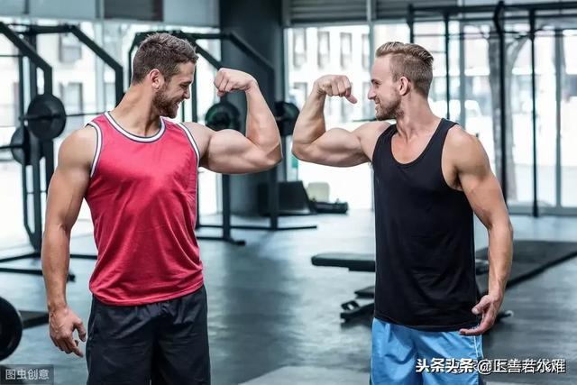 健身图片,在健身房健身有什么好处?