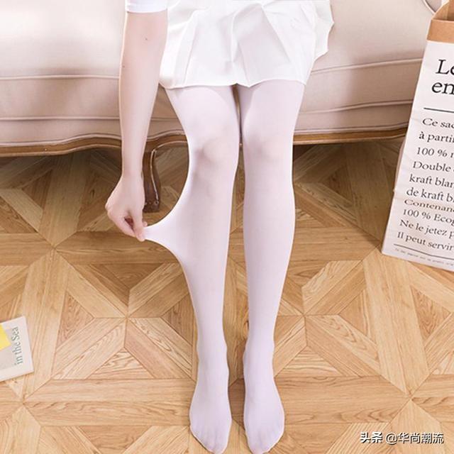 腿较黑的人穿什么颜色丝袜显白?