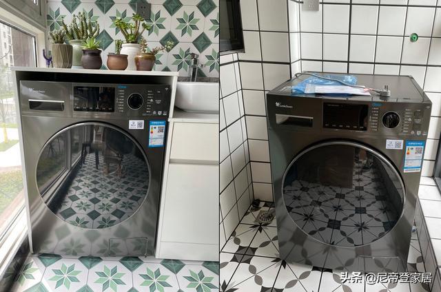 """""""洗烘一体洗衣机""""与""""洗衣机+干衣机""""组合相比有何优缺点?"""