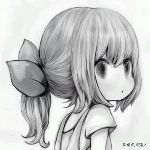 头像女可爱萌,如何绘画可爱的小女生头?
