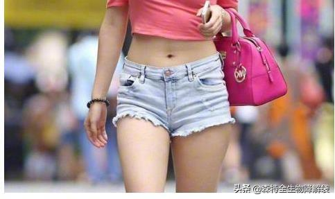 女生下面图片,女生短裤要怎样搭配图片?