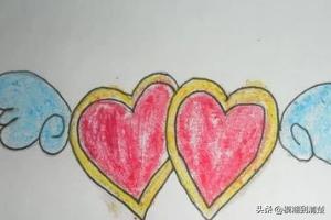 情人节礼物的图片怎么画,520爱心画法---怎么画爱心?