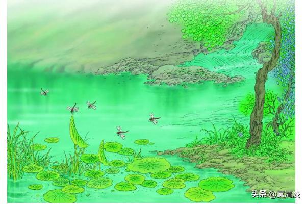小池古诗带拼音版,古诗二首池上和小池拼音?