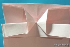 创意儿童节礼物手工,[创意折纸]如何手工折漂亮的纸袋?