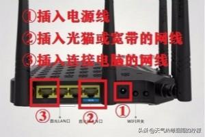 路由器设置步骤图解,腾达ac1200路由器设置?