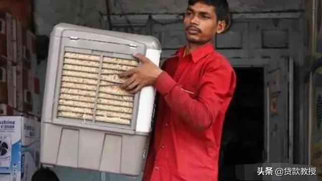 """稻草空调印度空调降温 印度气温高达50度, 奇葩"""""""