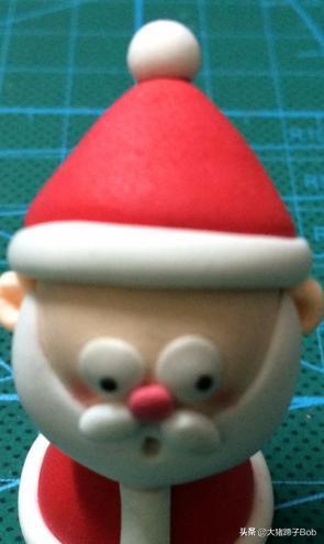 怼怼爱手工之圣诞节礼物袋,超轻粘土教程--圣诞老人粘土教程?
