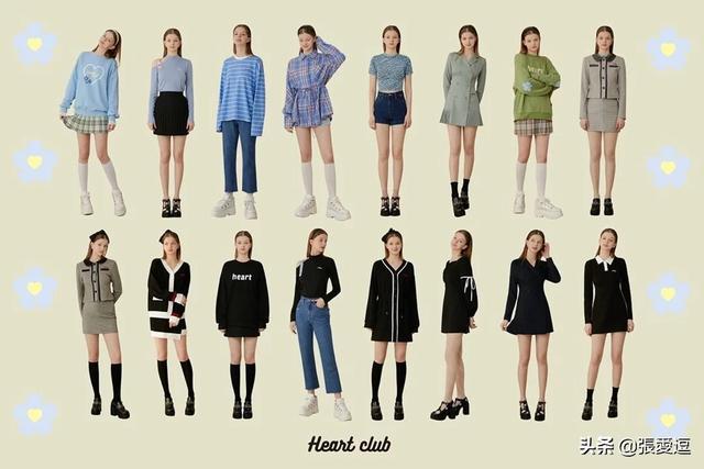 女孩衣服,你喜欢女孩子搭配什么衣服?