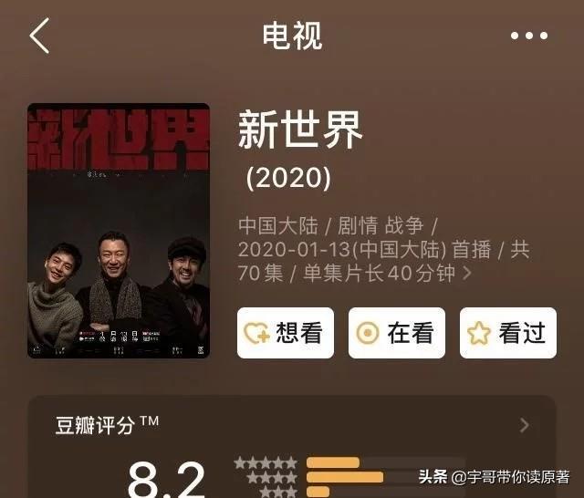 陶虹个人资料,电视剧《新世界》该评多少分?