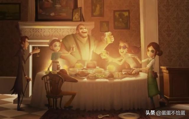 约瑟夫第五人格图片,《第五人格》为什么叫第五人格?