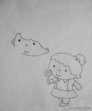 耳朵简笔画,简笔画姐姐和妹妹的画法?