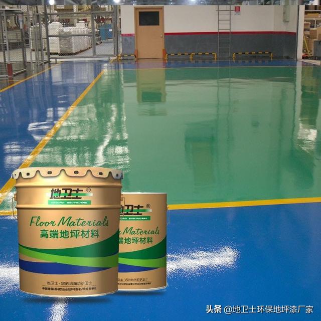 (车间厂房地面做什么地坪比较好呢)厂房车间通道常用什么颜色的地坪漆?