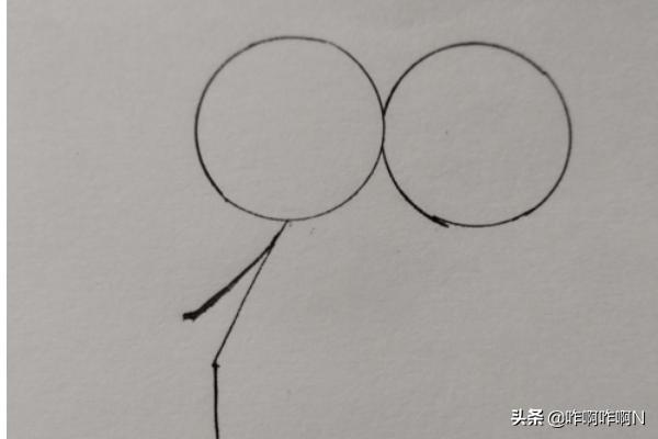 抖音情侣头像,抖音火爆恋人的小人简笔画方法?