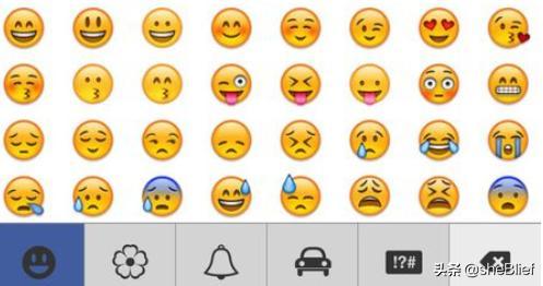 微信表情包含义,微信中微笑的表情是什么意思?