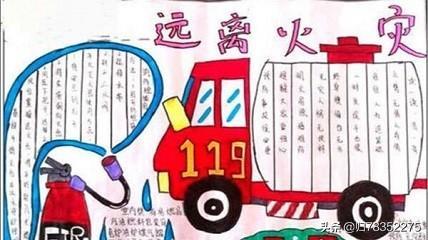 消防安全的手抄报怎么画?