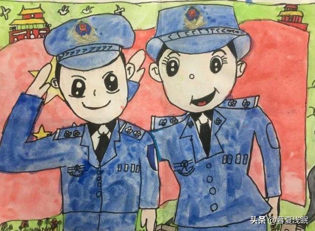 二年级作文大全50字我长大了想要做警察?