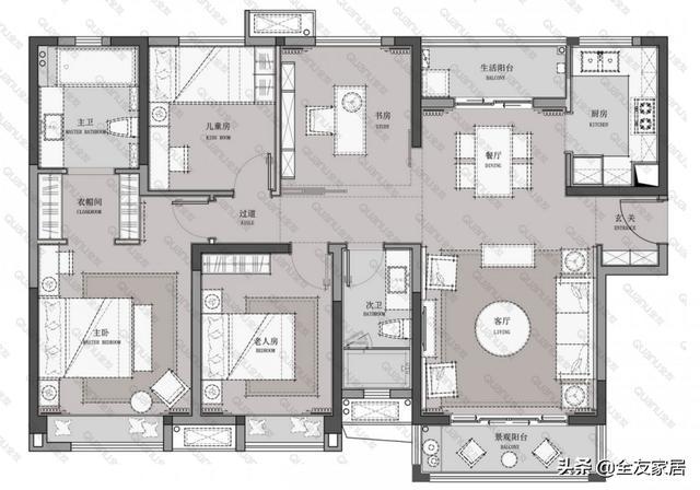 想有个时尚的家居生活环境,有何值得参考的装修案例?