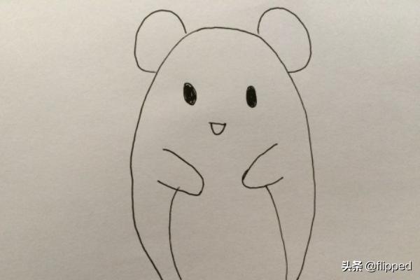 老鼠图片卡通,最简单卡通小老鼠的画法?