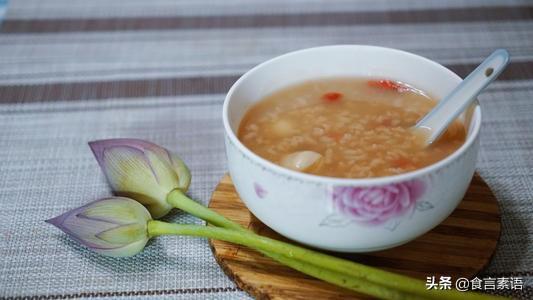 莲子米汤制作方法是怎样的?