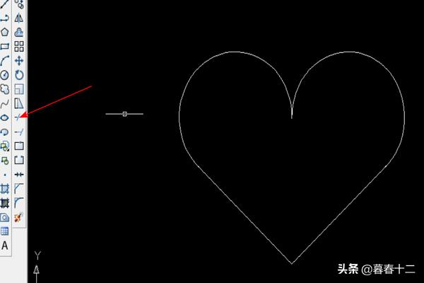 爱心画法,火柴人爱心简笔画怎么画?