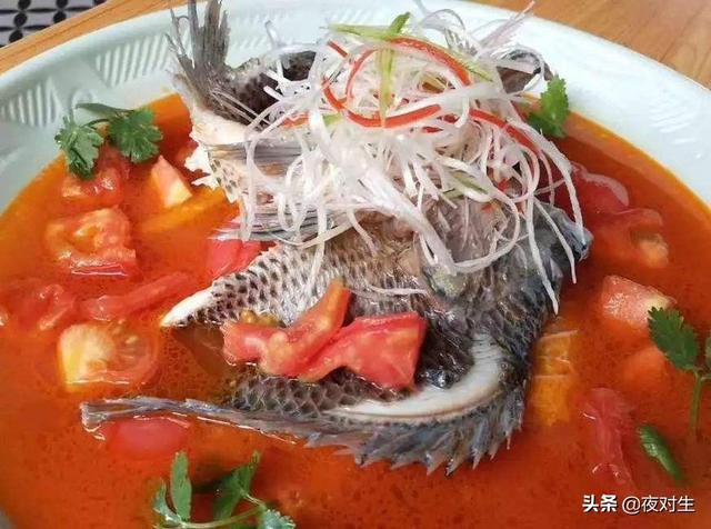 番茄乌鱼花的做法是什么?