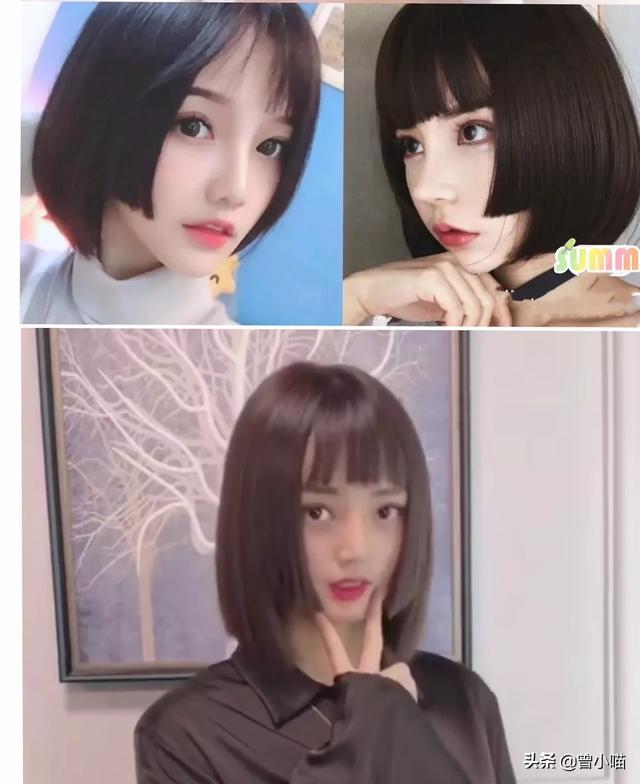 清纯美女头像,有什么发型显得可爱又清纯?