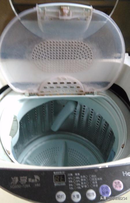 海尔洗衣机的程序操作方法?