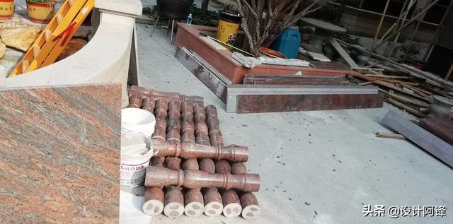 大理石栏杆安装的教程、别墅的大理石栏杆怎么安装的呢?
