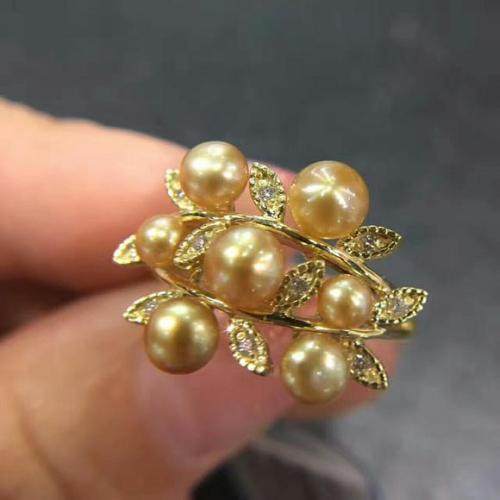 淡水珍珠有核和无核的区别、有核珍珠和无核珍珠、淡水有核珍珠插图2