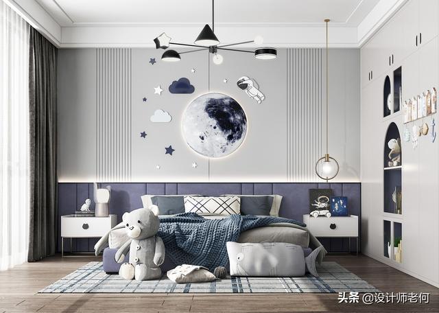 家庭装修时应该如何搭配壁布?